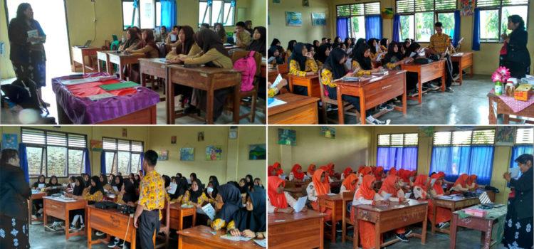 Kunjungan Ke SMK 1 Swadhipa dan SMA N 1 Natar, Lampung